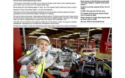 Mail Online: The shocking waste at recycle centres after Christmas