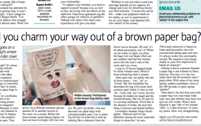 Metro: Could you charm your way out of a paper bag?