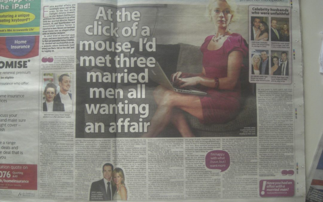The Mirror: Undercover on a 'cheating' dating site