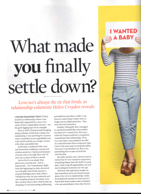 She Magazine: What's love got to do with it?