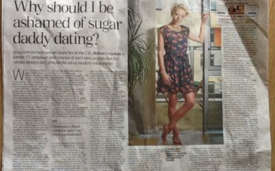 Telegraph: Why should I be ashamed of sugar daddy dating?