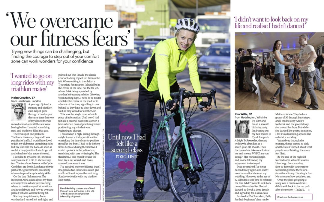 Top Sante: I confront my jitters about cycling in traffic