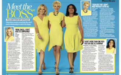 Woman Mag: Meet the BOS Women (Better Off Single)