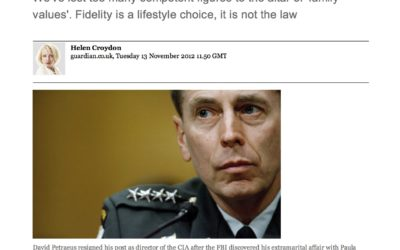 Guardian: Petraeus's infidelity was his own affair