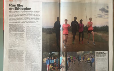 Outdoor Fitness: Training with the Ethiopians