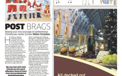 Metro: Christmas Cards are now Status Cards