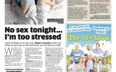 Metro: Why are we going off sex?
