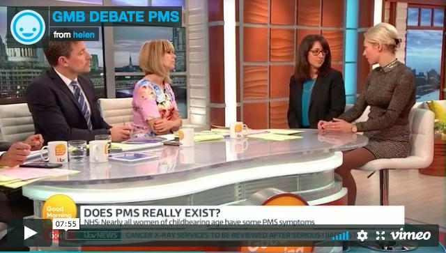 ITV: Is PMS all in women's heads?