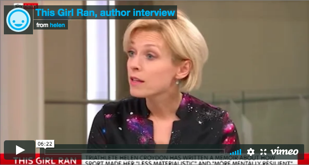This Girl Ran: Sky News interview on barriers to women in sport
