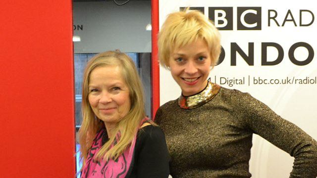 BBC Radio London: Talking to Jo Good about This Girl Ran