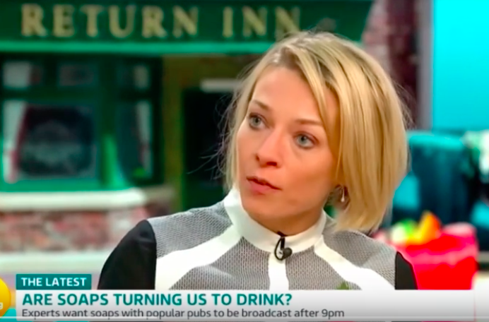 ITV Good Morning Britain: TV soaps show too much drinking