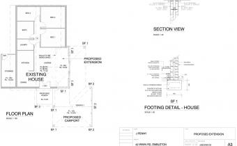 Irwin Home Renovation Drawings