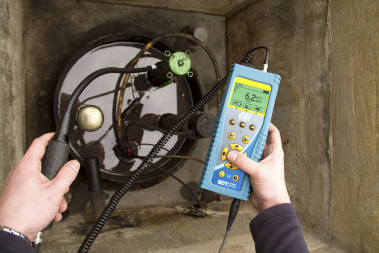 Ultrasonic Tank Leak Detector