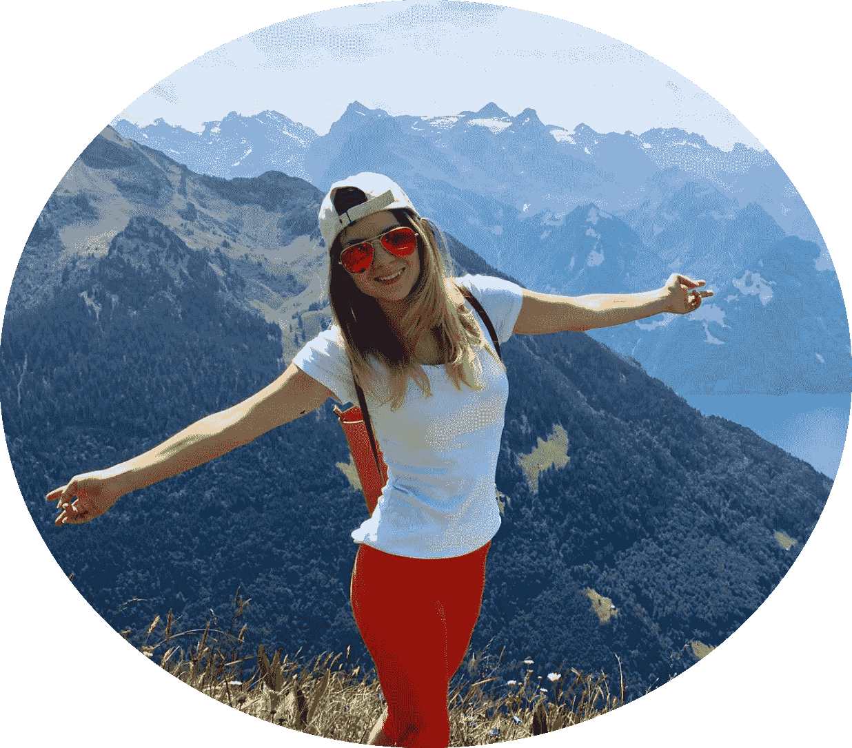 Switzerland Beautiful woman Explore Stoos beginners après-ski ski centre Swiss