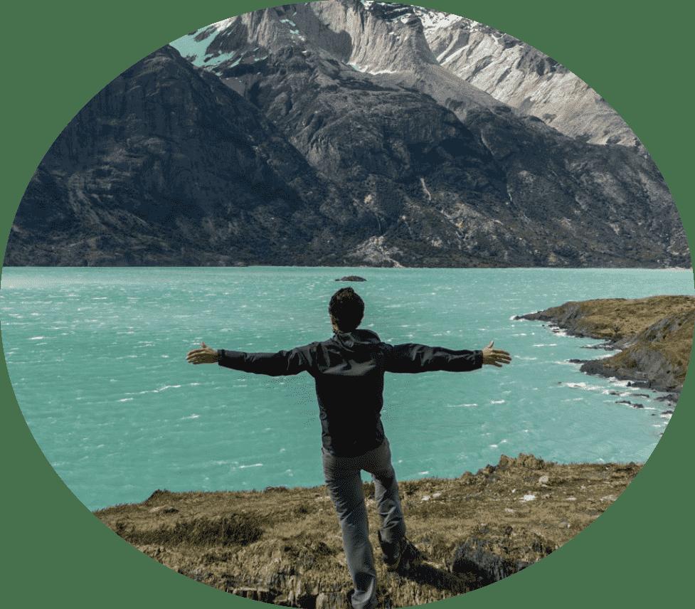 Mountain freedom Swiss Alps Lake Luzern