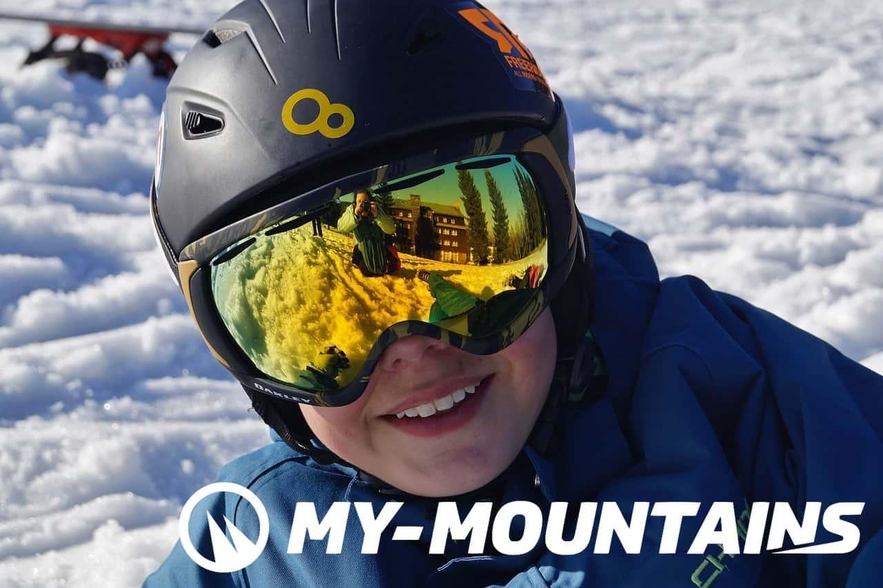 ski goggles or sunglasses