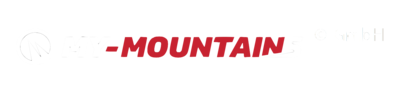 My-Mountains logo white and red
