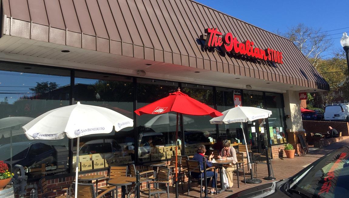 The Italian Store in Westover Village, Arlington VA