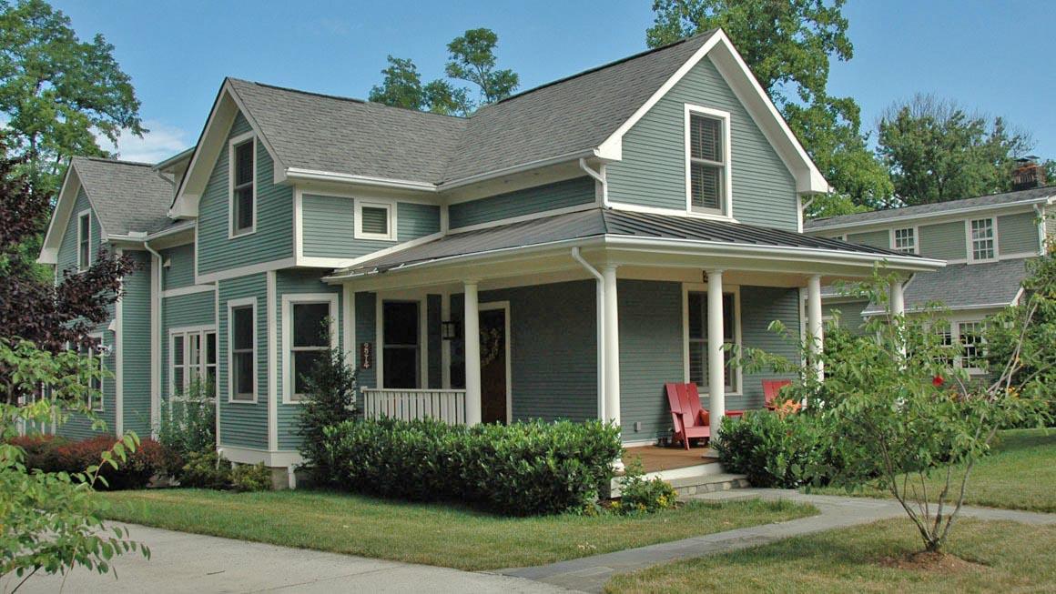 New Maywood home fits with neighborhoods historic character in Arlington, VA