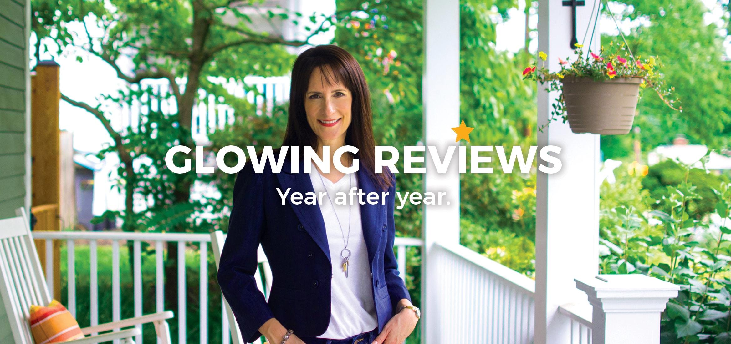 Top Arlington Virginia realtor five star reviews for Meg Ross