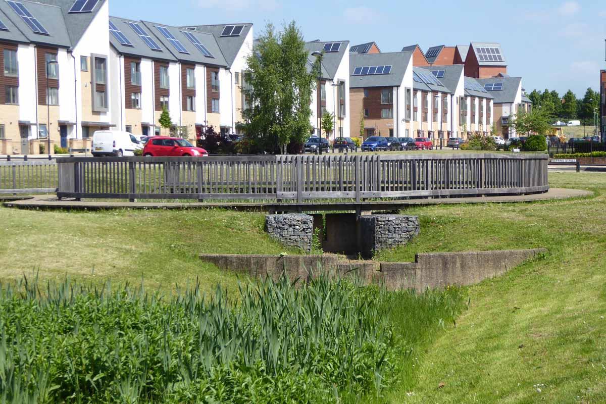 Flood Risk Planning & Drainage Works Northampton