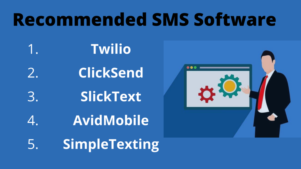Recommended SMS Software