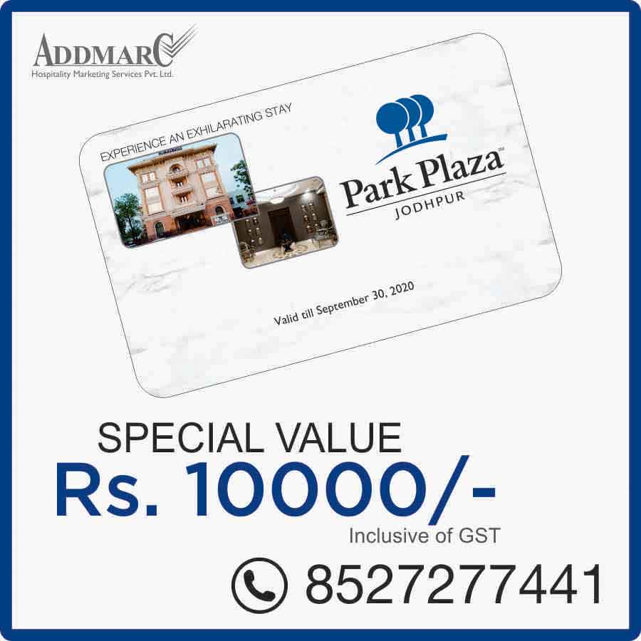 Hotel Park Plaza Jodhpur Membership Offer