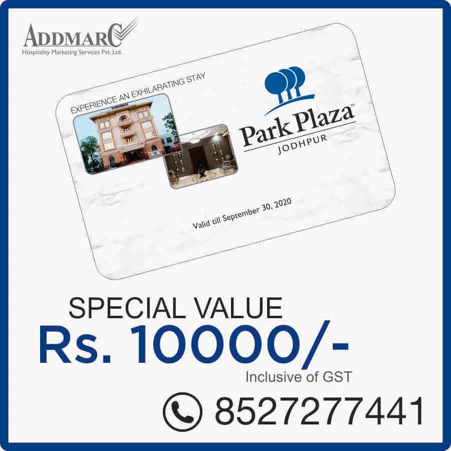 Hotel Park Plaza Jodhpur Membership Offer