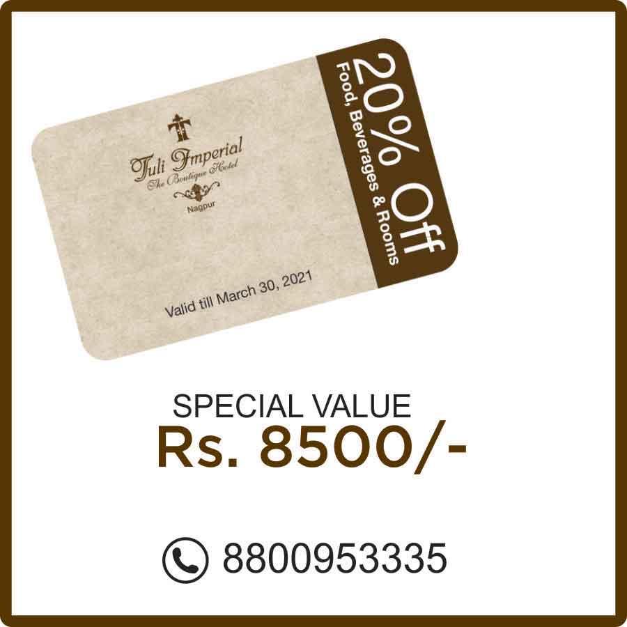 Tuli Imperial Nagpur Exclusive Membership Offers