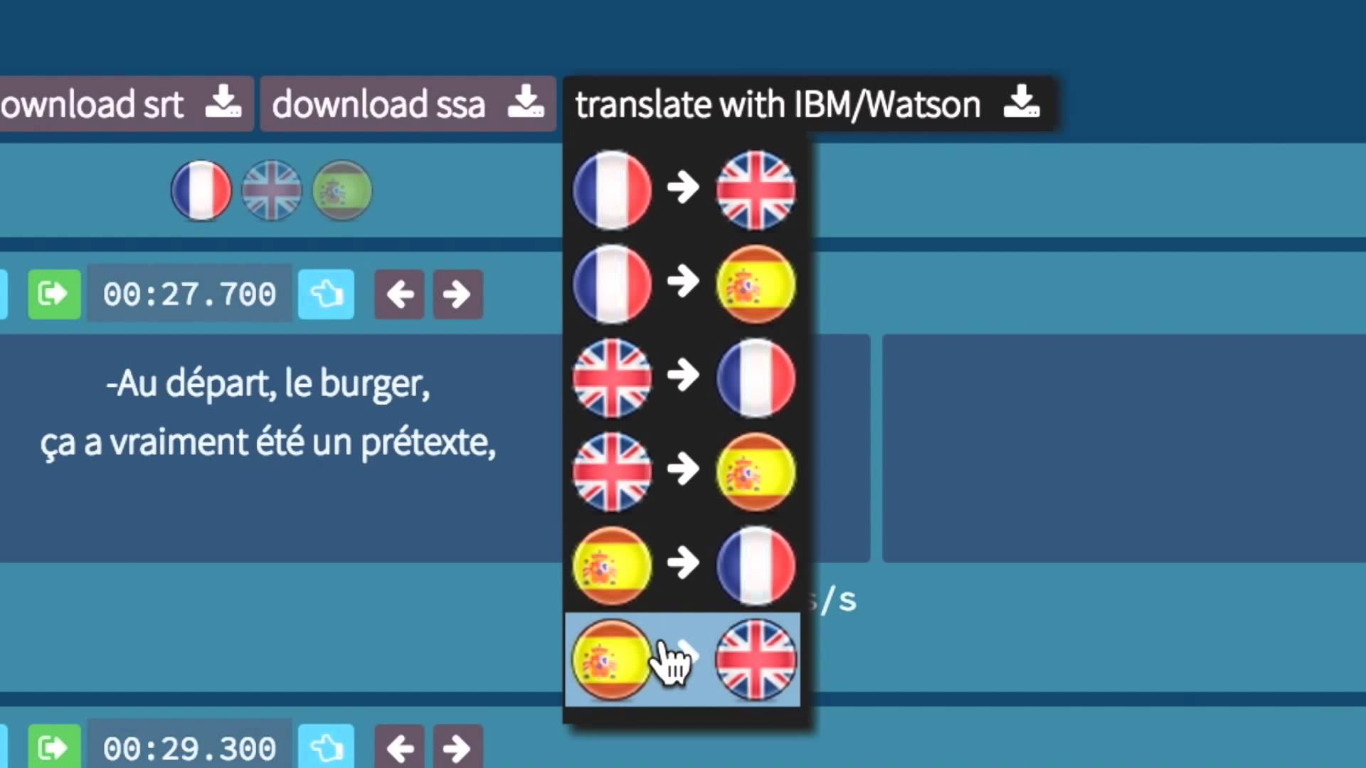 IBM Control Desk translates with IBM Watson