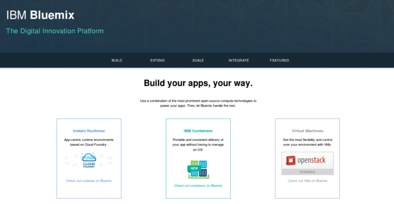 Bluemix overview