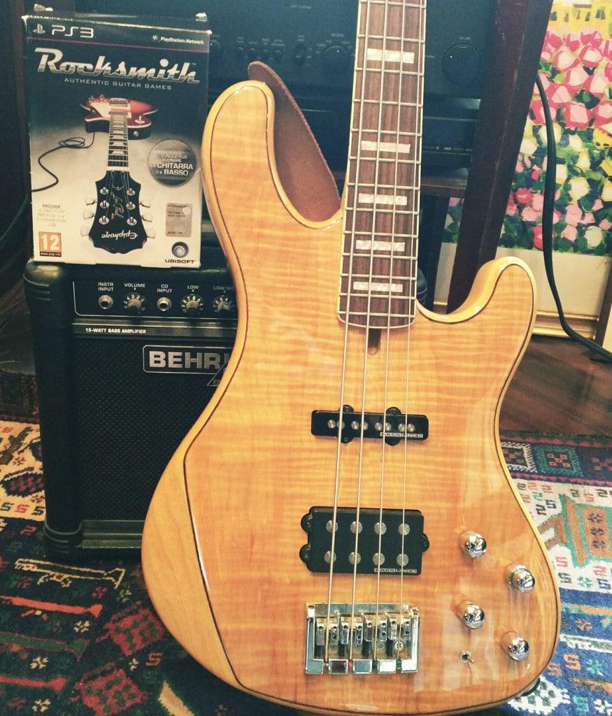 Bass Cort and RockSmith
