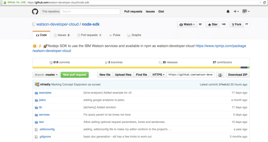 download package from github