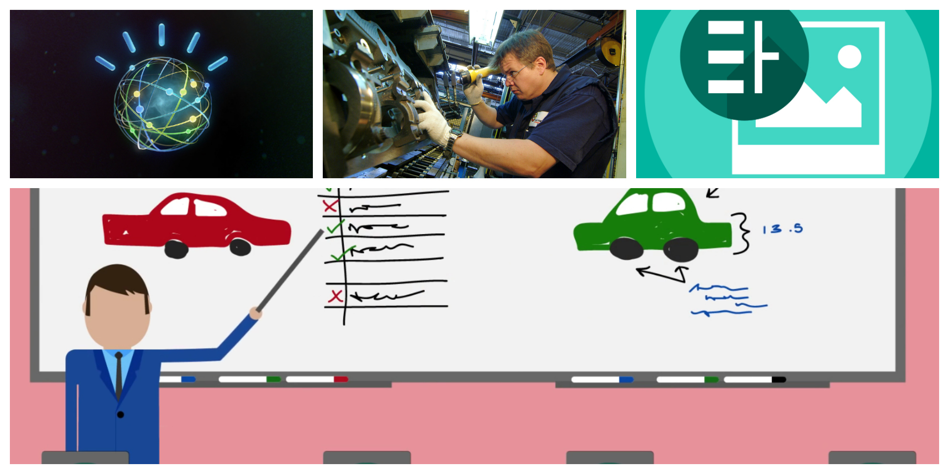 Watson visual recognition for quality control in production lines