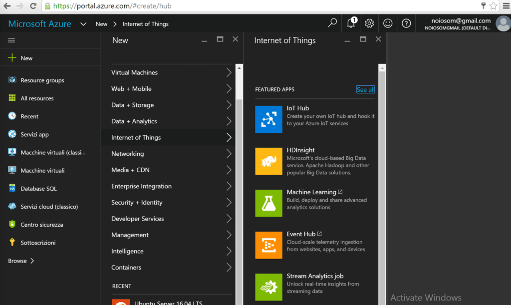 Azure Internet Of Things