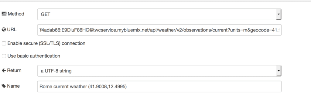 Weather Company api