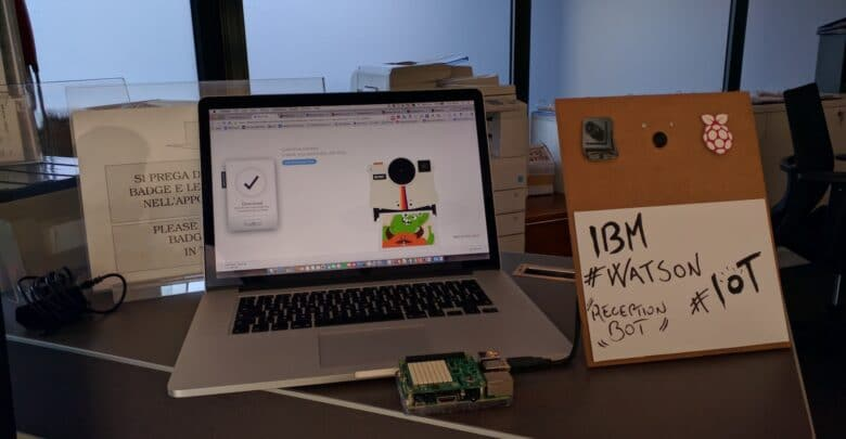 Photo of Watson IoT Receptionist BOT (Italian version)
