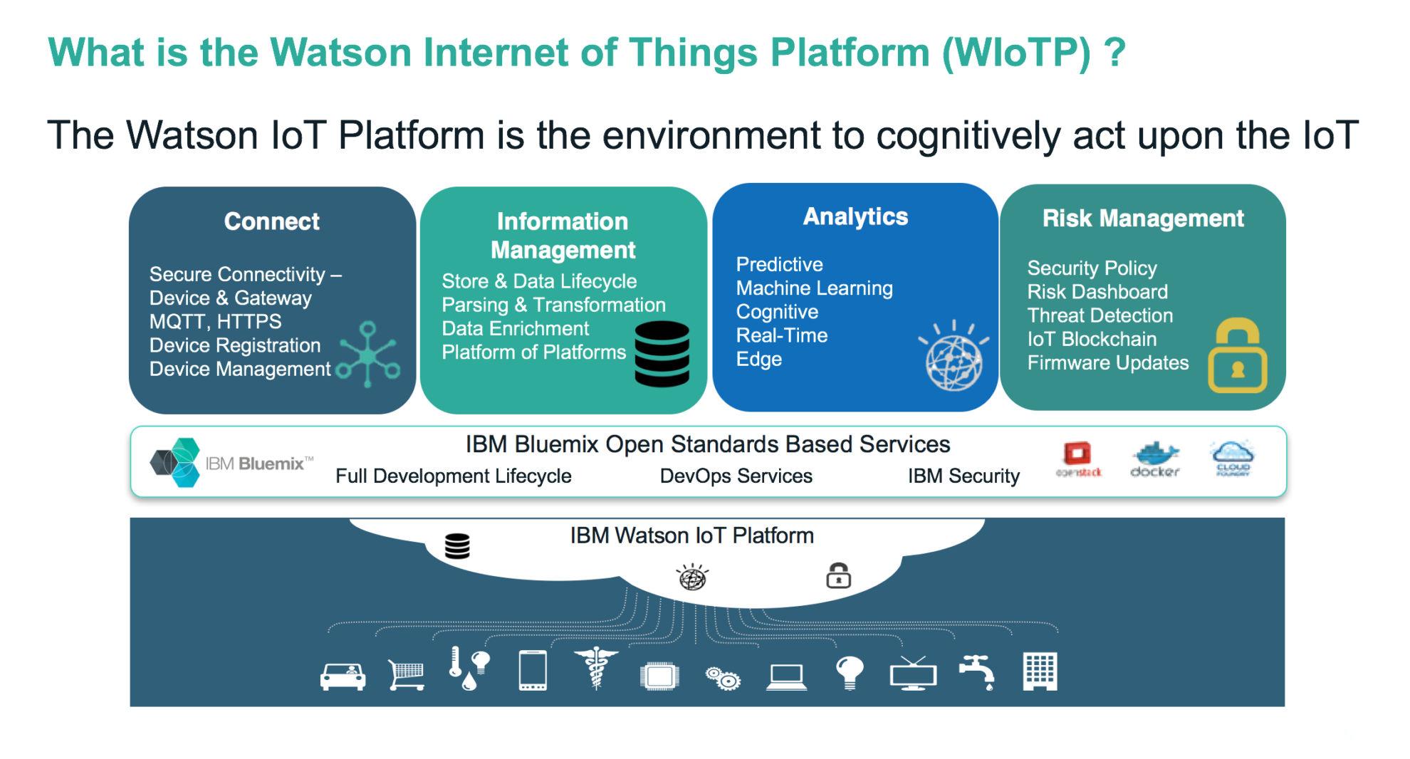 Webcast: IoT use-cases with IBM Watson IoT Platform