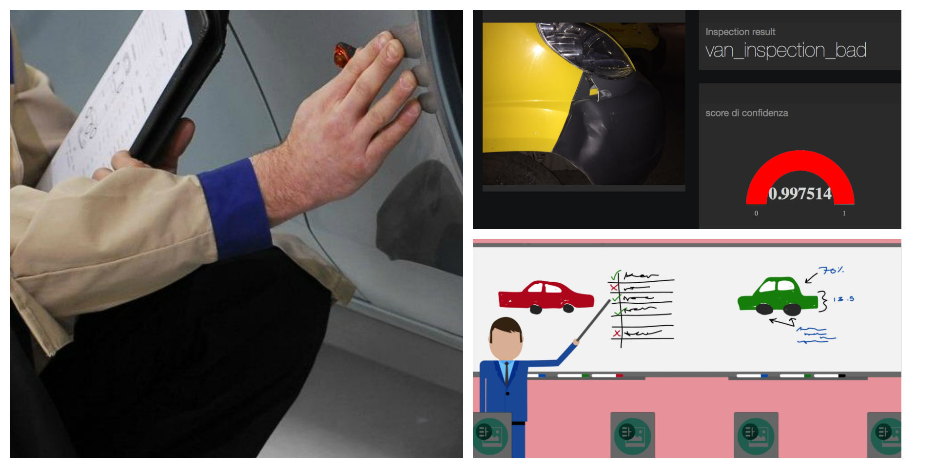 van inspection by Watson visual recognition