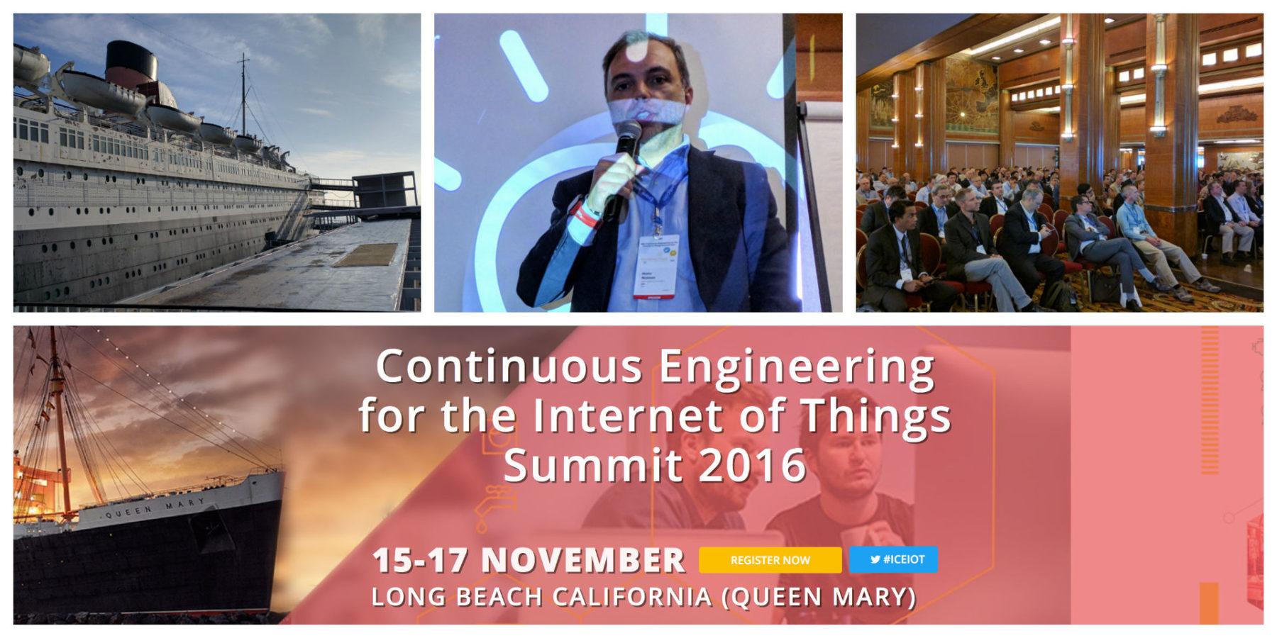 Internet of Things Summit 2016