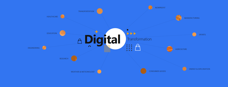 Digital transformation for Microsoft's cloud customers