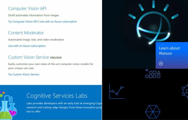 IBM Watson Services vs Microsoft Cognitive Services