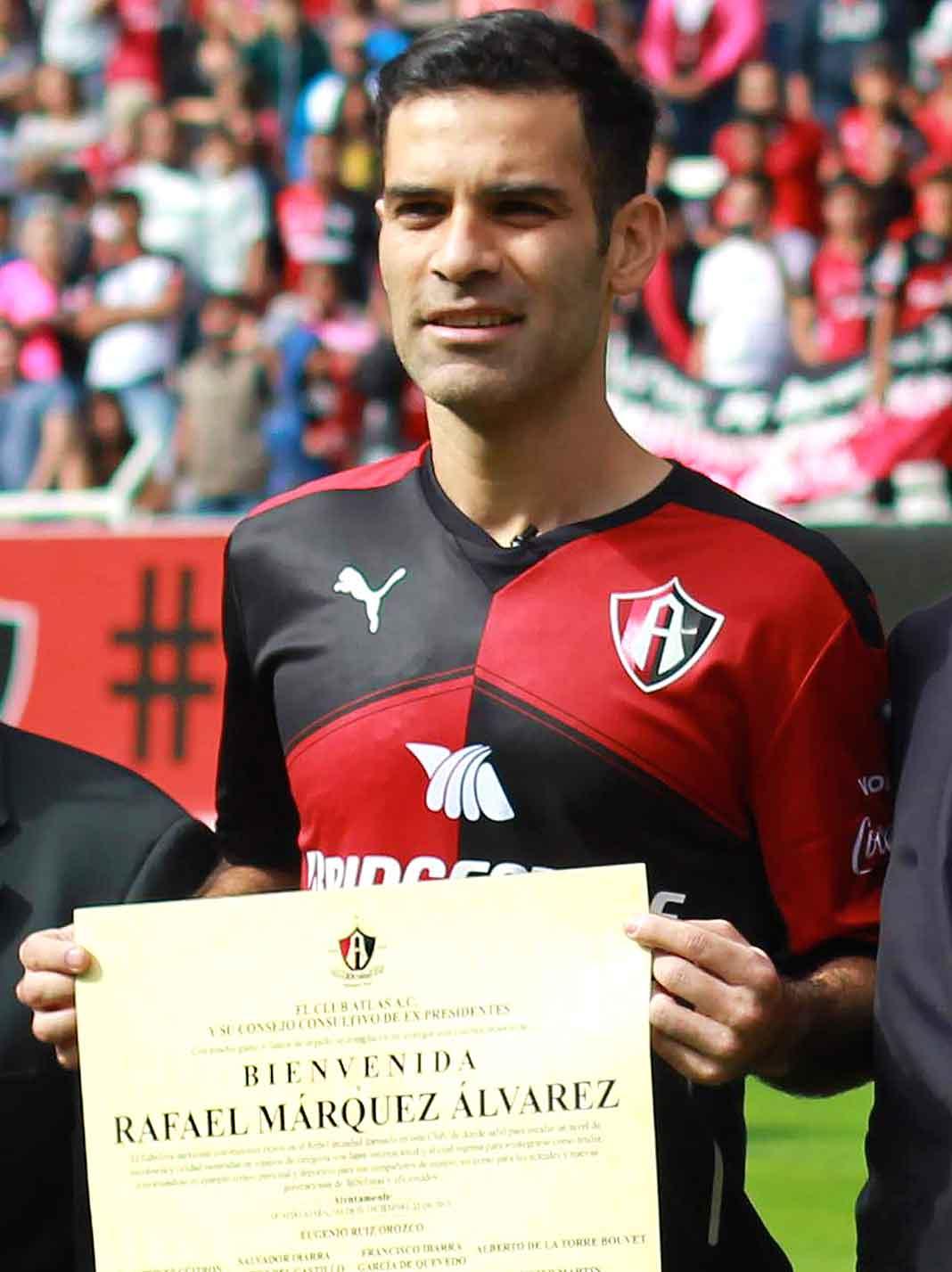 Rafa Márquez es uno de los jugadores más conocidos en el mundo