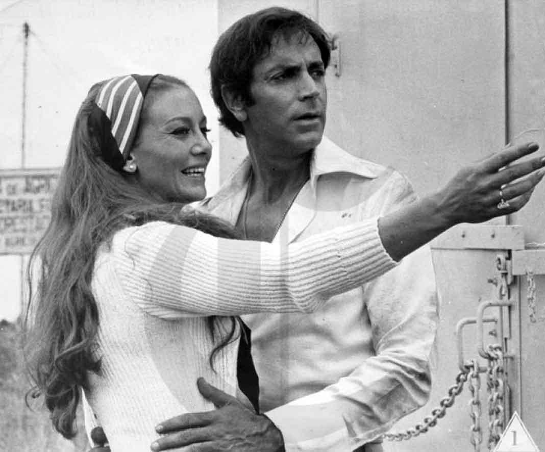 """En 1973 protagonizó la película """"Adiós, Amor"""", junto a Julio Alemán"""