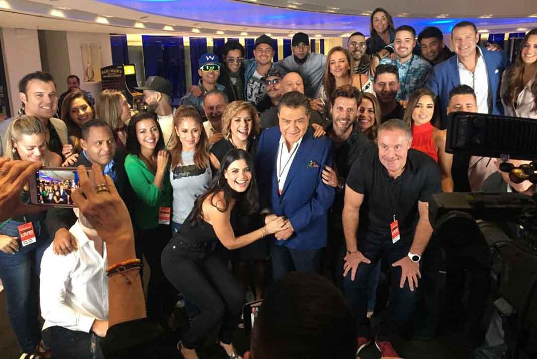 Somos Una Voz logró reunirnos a todos los que trabajamos en Telemundo y Univision