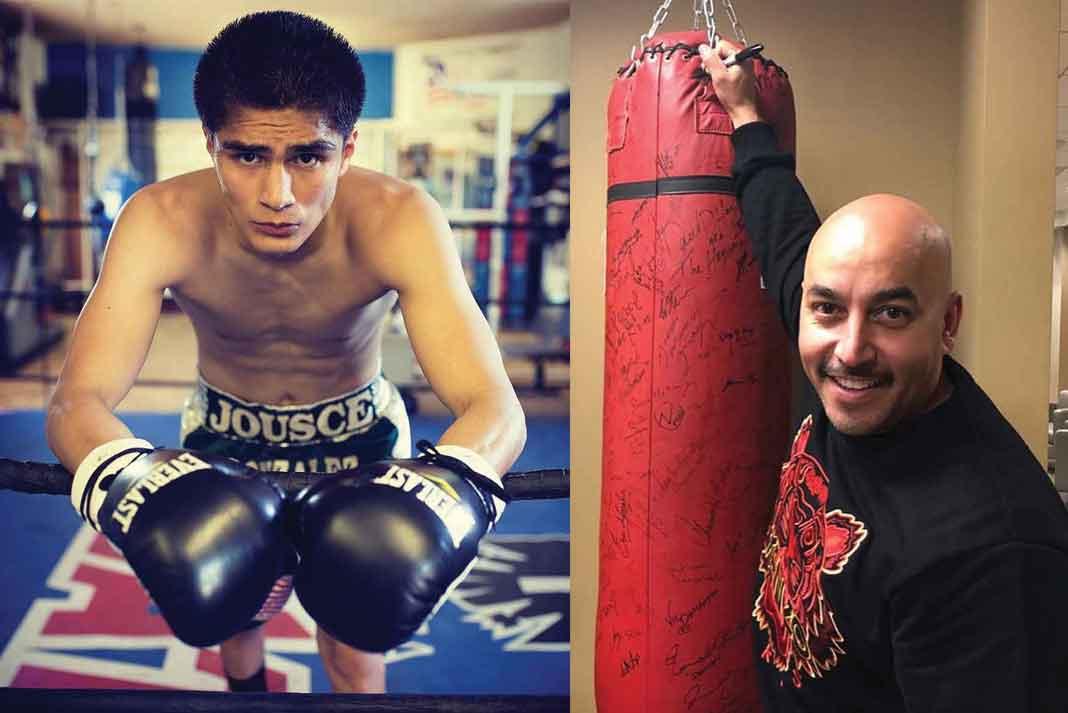 Lupillo está listo para debutar en el negocio de boxeo con este joven mexicano