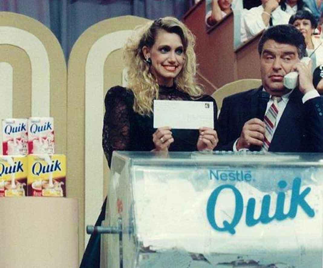"""Lili fue modelo en """"Sábado Gigante"""", cuyo presentador principal en los 80's era Don Francisco"""