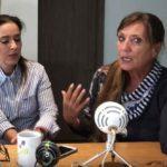 """Claudia de Icaza (derecha) destapó en su show de Youtube que Sergio es hijo de Marcela y """"El Negro"""" Durazo"""