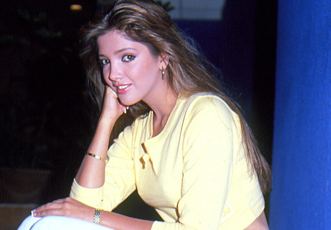 Adela Noriega, de las actrices más famosas de los 80s