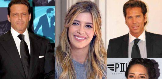 Luis Miguel, Michelle Salas, Roberto Palazuelos y Stephanie Salas